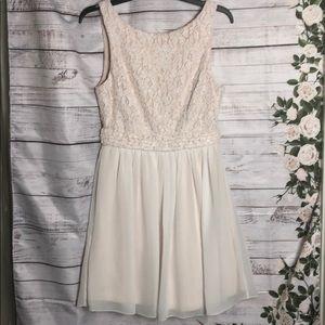 Speechless cream dress